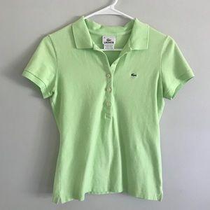 Lacoste Slim Fit Stretch Mini Pique Polo Shirt